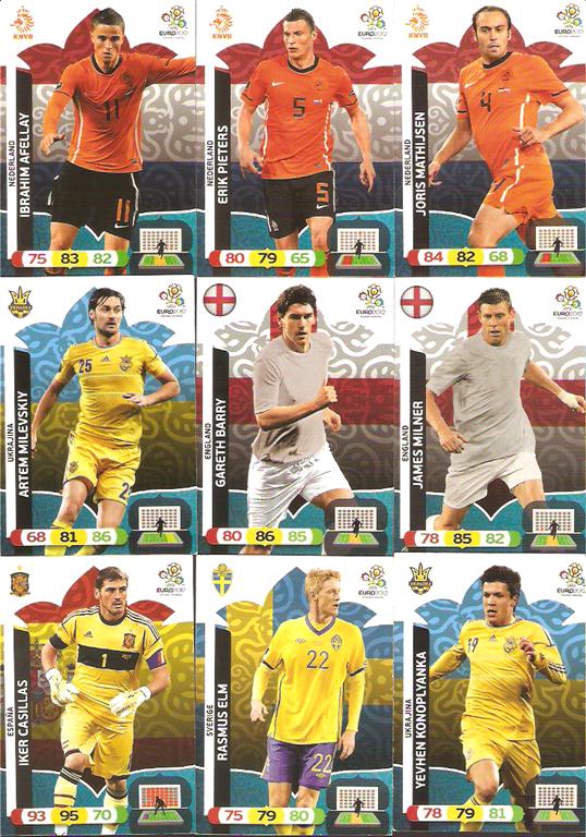 Karty Panini Adrenalyn XL EURO 2012 Szt  63